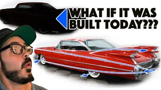 Download 1959 Cadillac Coupe DeVille Re-design - Modernizing an American Classic Video