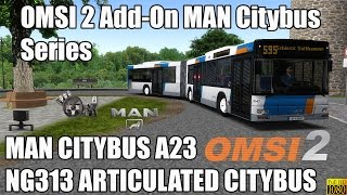 Download OMSI 2 - Add-On MAN Citybus Series - MAN Citybus A23 NG313 Articulated Video