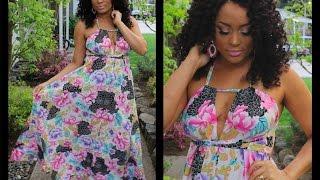 Download DIY Maxi Vestido Super Fácil \ DIY Maxi Dress Video