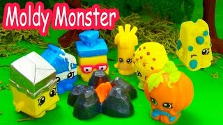 Download Shopkins Halloween Campfire Story Moldy Monster Small Mart Limited Edition Camping Video