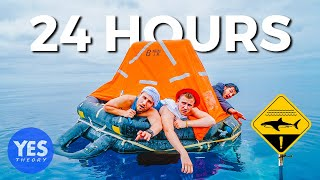 Download STRANDED AT SEA FOR 24 HOURS (shark-filled waters) Video