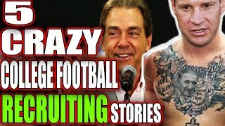 Download 5 CRAZY College Football Recruiting Tactics That Actually Worked!!! Video