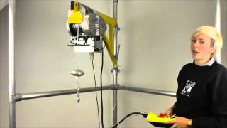 Download Scaffold Hoist LG200KT by LiftinGear made in Italy. Video