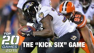 Download #16: Ravens vs. Browns (Week 12) | Top 20 Games of 2015 | NFL Video