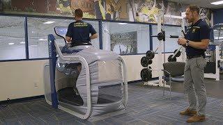 Download Demonstration of Anti-Gravity Treadmill at Michigan Medicine Video