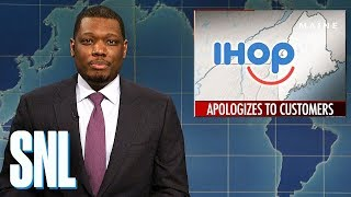 Download Weekend Update on IHOP's Apology - SNL Video