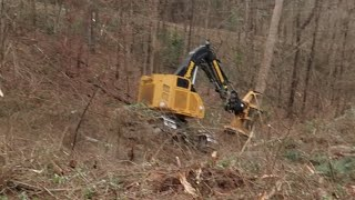 Download Tigercat LX830D nearly flipped over, look at the thumbnail ☝🏻 extreme Video