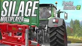 Download Making Corn Silage in Multiplayer in Goldcrest Valley Video