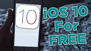 Download How to get iOS 10 on iPhone 4/4s/5/5c/5s/6 and above Video