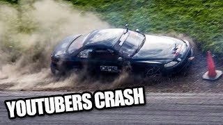 Download YouTubers Drift Crash Compilation Video