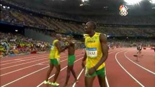 Download Usain Bolt - 6 World Records in 100m (9.72, 9.69, 9.58), 200m (19.30 19.19), 4x100m relay (37.10) Video