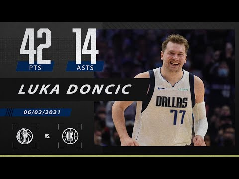 Luka Doncic drops 42 points as Mavs take 3-2 series lead vs. Clippers | 2021 NBA Playoffs