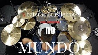 Download 5 bateristas Brasileiros conhecidos no mundo. Video