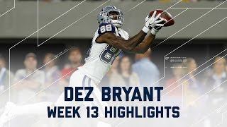 Download Dez Bryant Amazing 84 Yards & 1 TD! | Cowboys vs. Vikings | NFL Week 13 Player Highlights Video