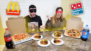 Download BLIND FAST FOOD CHALLENGE! Loser has to... Video