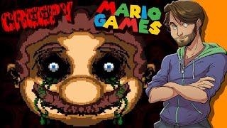 Download Creepy Mario Games - SpaceHamster Video