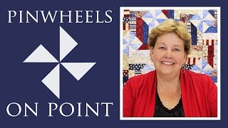 Download Pinwheels On Point with Fence Rail Quilt: Easy Quilting Tutorial with Jenny Doan of MSQC Video