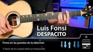 Download Cómo tocar Despacito en guitarra COMPLETO (Luis Fonsi)   Guitarraviva Video
