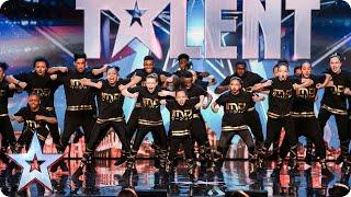 Sensational Dance Crew Get Tyra Banks GOLDEN BUZZER on