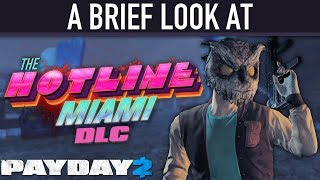 Download A brief look at The Hotline Miami DLC. [PAYDAY 2] Video