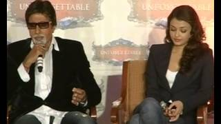 Download Amitabh bachchan's latest interview with Aishwarya Video