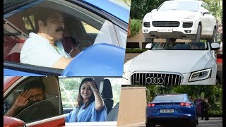 Download Celebrities With their Super Cars At Amma General Body Meeting , Mammootty , Jayasurya , Miya Video