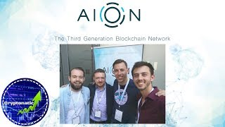 Download Interview with AION team - @ Blockchain Africa 2018 #BAC18 Video
