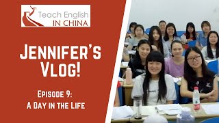 Download Month 9 in China: A Day in the Life of an English Teacher at a Chinese University Video