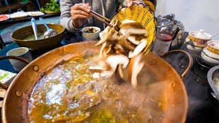 Download Chinese Food - YELLOW BEEF Hot Pot and Hot CHILI OIL RECIPE! | Yunnan, China Day 3 Video
