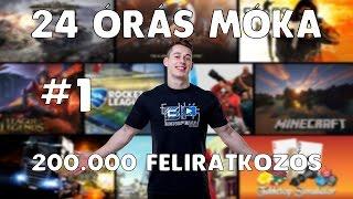 Download 200.000 Feliratkozós 24 ÓRÁS MÓKA!!! - BENIIPOWA 1.rész Video