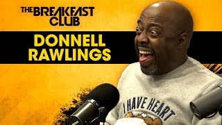 Download Donnell Rawlings Presents His New Paper Book To The Breakfast Club Video