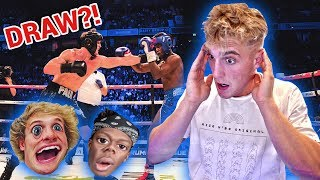 Download REACTING TO KSI VS. LOGAN PAUL!! (FULL FIGHT) Video
