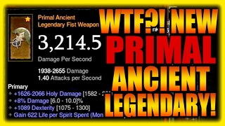 Download WTF? Primal Ancient Legendary Items?! Diablo 3 Patch 2.5 PTR Preview Gameplay Video