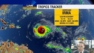 Download Tracking the Tropics: Hurricane Irma now a Category 4 Video