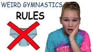 Download BIZARRE RULES IN GYMNASTICS! Video