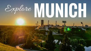 Download Munich/München city tour: Buildings, Beer, BMW & Meininger Hotel - vacation guide Video