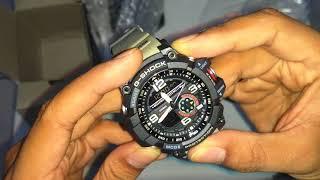 Download Review GShock GG1000 Grade Ori BM (kompas autolight termometer) Video