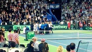 Download Así se vivió la histórica final de Copa Davis en las tribunas del Arena Zagreb Video
