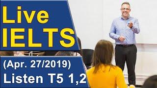 Download IELTS Live - Listening - Band 9 Practice Video