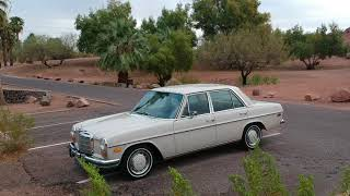 Download 1972 Mercedes Benz 250 W114 2.8L Video