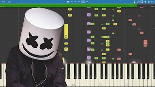 Download IMPOSSIBLE REMIX - Marshmello - Alone - Piano Cover Video
