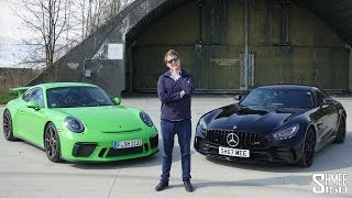 Download What's My Choice? Porsche GT3 or AMG GT R - Only One!   HEAD TO HEAD Video