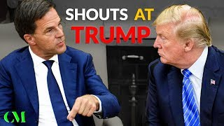 Download ″NO!!!″ Dutch Prime Minister TELLS OFF TRUMP Right To His Face (Body Language Breakdown) Video