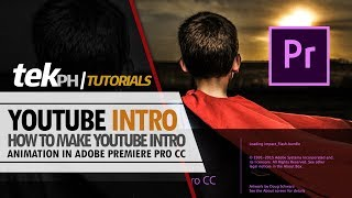 Download How to Create YouTube Intro Animation in Adobe Premiere CC Video