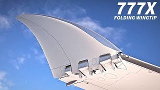 Download The BOEING 777x FOLDING WINGTIP Explained Video