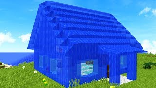 Download TURNING MY MINECRAFT HOUSE INTO WATER! Video