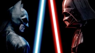 Download BATMAN vs DARTH VADER - ALTERNATE ENDING - Super Power Beat Down Video