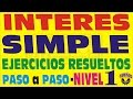 Download INTERÉS SIMPLE - Ejercicios Resueltos - Nivel 1 - TASA , MONTO Y CAPITAL Video