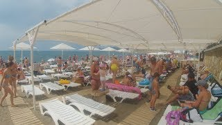 Download Крым.Пляж Судак 2018. РОСТ ЦЕН! 15 июня 2018 Video