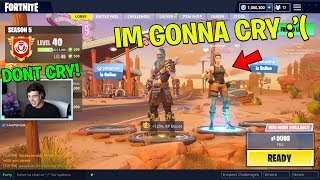 Download She CRIED when I bought her the Tier 100 Battle Pass! (Fortnite Battle Royale w/ Queeane) Video